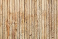 Wood wall surface, wooden texture, vertical boards. Royalty Free Stock Photo