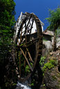 Wood Water Mill Royalty Free Stock Photography