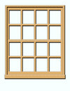 Wood Window Royalty Free Stock Image