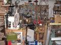 Wood workshop a craftsmans Stock Image