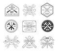 Wood Workshop And Emblems