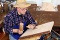 Woodcarver Royalty Free Stock Photos