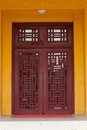 Woodcarving windows Royalty Free Stock Photo