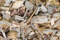Woodchips light brown textured background Stock Photos