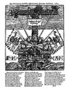 Woodcut flyer from the Reformation Era