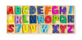 Wooden alphabets Royalty Free Stock Photo