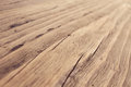 Wood Texture, Wooden Grain Background, Desk in Perspective Close Up, Striped Timber Royalty Free Stock Photo