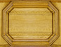 Wooden background frame vintage in yellow Royalty Free Stock Image