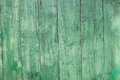 Wooden background old painted green Stock Photo