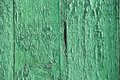 Wooden background with peeling paint vintage green Royalty Free Stock Photo