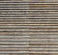 Wooden background of roughly processed boards Royalty Free Stock Photography