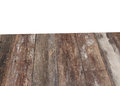 Wooden background textur and clipping path, isolated on white background Royalty Free Stock Photo