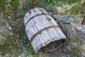 Wooden barrel Royalty Free Stock Photo