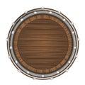 Wooden Barrel Top Object 3D De...