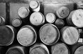 Wooden Barrels Royalty Free Stock Photo