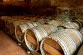 Wooden barrels Stock Photography