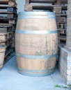 Wooden barrels used to contain wine italy Royalty Free Stock Photo