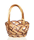 Wooden basket Royalty Free Stock Photo