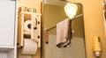 Wooden Bathroom Toilet Paper D...