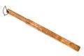 Wooden baton Royalty Free Stock Photo