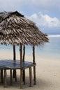 Wooden beach hut Royalty Free Stock Photo