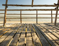 Wooden Beach Hut Royalty Free Stock Photo