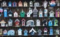 Picture : Wooden bird houses   -