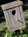Wooden Birdhouse Stock Photo