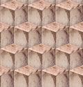 Wooden blocks seamless