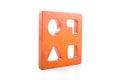 wooden blocks shape sorter toy