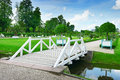 Wooden bridge Stock Photo