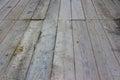 Wooden Bridge pattern textured background Royalty Free Stock Photo