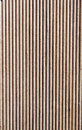 Wooden brown grooves panel closeup dark Royalty Free Stock Photos