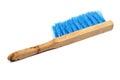 Wooden brush isolated on white fetlock Royalty Free Stock Photo