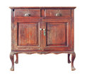Wooden cabinet Stock Photo