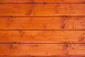 Wooden ceiling colored wood plank on the Stock Images