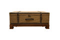 Wooden chest Royalty Free Stock Photo