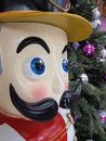 Wooden Christmas nutcracker Royalty Free Stock Photos