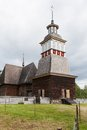 Wooden chruch in petajavesi unesco world heritage site Stock Photo