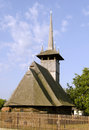 Wooden church from maramures romania old the rural Stock Photography