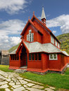 Wooden Church Norway Royalty Free Stock Photo