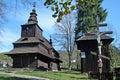 Drevený kostol v Ruský Potok