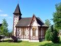 Wooden church in Stary Smokovec, Slovakia, Europe