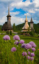 Wooden Churches of Maramures Royalty Free Stock Photo