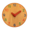 Wooden clock Royalty Free Stock Photo