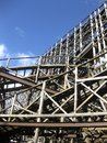 Wooden Coaster Royalty Free Stock Images