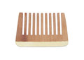 Wooden comb Stock Image