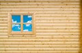 Wooden Cottage Wall Royalty Free Stock Photo