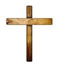 Wooden Cross.