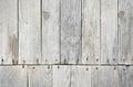 Wooden decking detail old worn floor Royalty Free Stock Photos